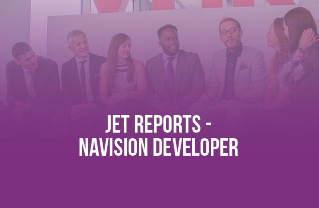 Jet Reports-Navision Developer Job